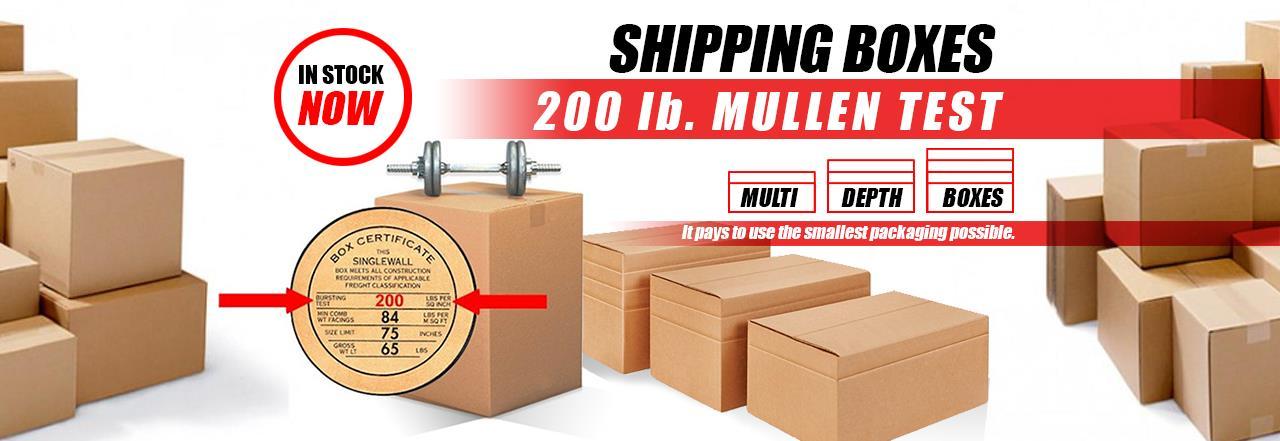 Mullen Test Boxes