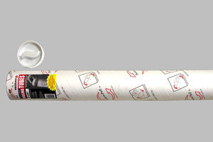 1 Tube RetailSource P3026Wx1 3 x 26 White Mailing Tubes with Caps